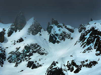 Photograph - Storm Over Peaks by Frank Wilson