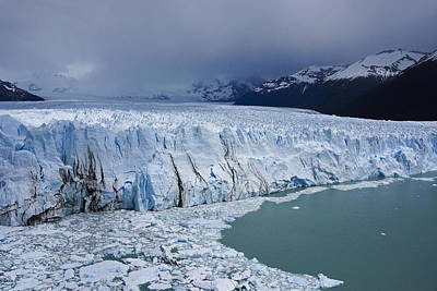 Photograph - Storm Over Perito Moreno by Michele Burgess