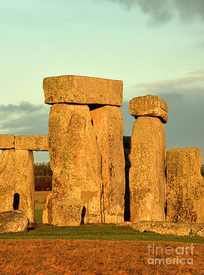 Photograph - Storm Over Stonehenge by Deborah Smolinske