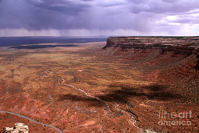 Photograph - Storm Over The Desert by Butch Lombardi