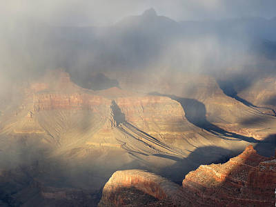 Storm Over The Grand Canyon Art Print