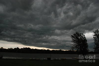 Photograph - Storm Over The Lake by Mark McReynolds