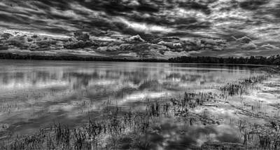 Thomasyoung Photograph - Storm Over The Mill Pond  by Thomas Young