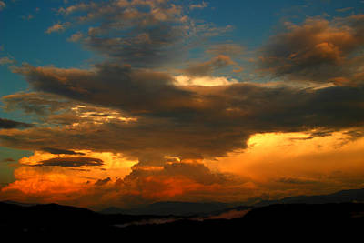 Photograph - Storm Over The Smokies by Michael Eingle