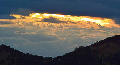 Photograph - Storm Over The Valley by AJ  Schibig