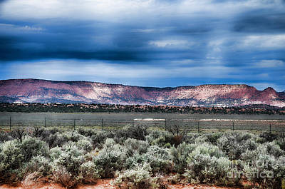 Photograph - Storm Over The Vermilion Cliffs by Donna Greene