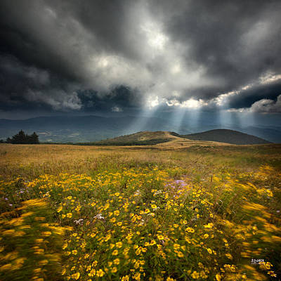 Storm Over Whitetop Mountain 2 Art Print by Steven Llorca