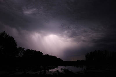 Art Print featuring the photograph Storm Over Wroxton by Ryan Crouse