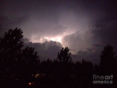 Photograph - Storm Passing Over Head by Deborah DeLaBarre