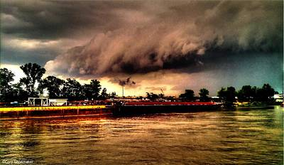 Storm Rolling In Art Print by Cory Shoemaker