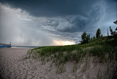 Photograph - Storm Rolling In by John Crothers