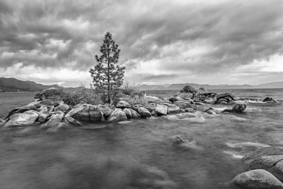 Storm Runs Through Print by Jon Glaser