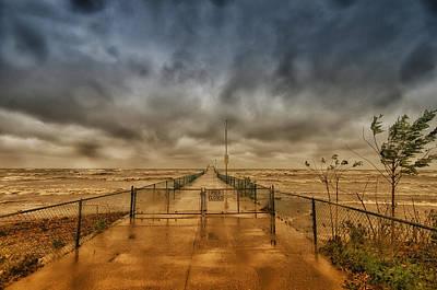 Storm Sandy At Bradstreet Landing Art Print