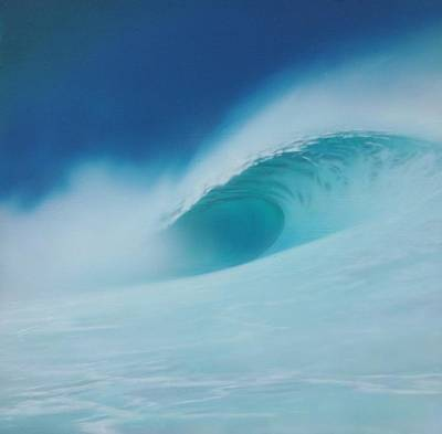 Painting - Storm Surf by Mark  Leavitt