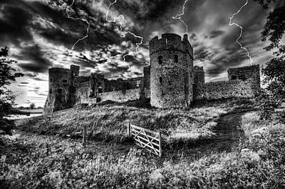 Photograph - Storm The Castle by Steve Purnell