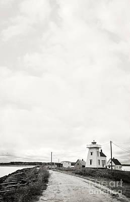 Photograph - Storm Threatening A Coastal Town by Edward Fielding
