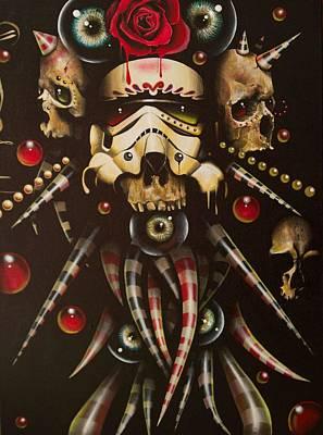 Storm Trooper Painting - Storm Trooper 3 by Francisco Javier