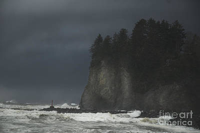 Storm At Lapush Washington State Art Print