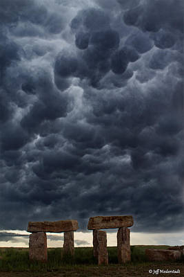 Photograph - Stormhenge by Jeff Niederstadt