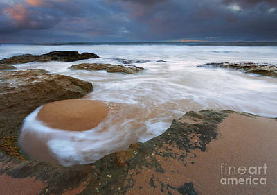 Knights Beach Photograph - Stormrise Whirlpool by Mike Dawson