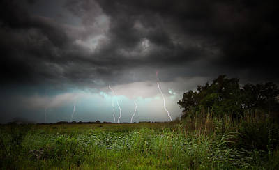 Photograph - Storms In The Everglades by Mark Andrew Thomas