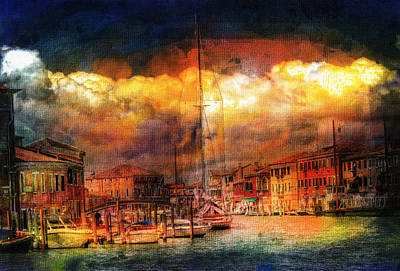 Photograph - Storms In Venice by Georgiana Romanovna