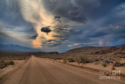 Photograph - Storms Over Movie Road by Adam Jewell