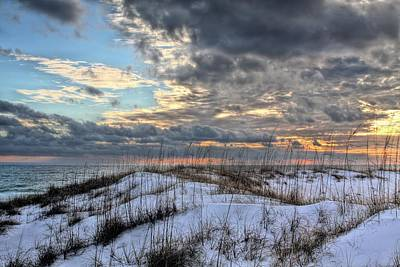 Photograph - Storms Over The Dunes by JC Findley