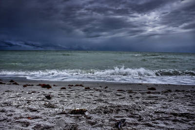 Photograph - Storm's Rolling In by Ellen Heaverlo