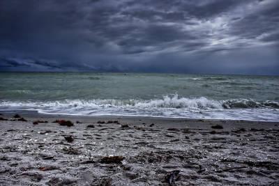 Photograph - Storm's Rolling In by Ellen Heaverlo