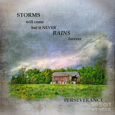 Stormy Weather Digital Art - Storms Will Come by Pamela Baker