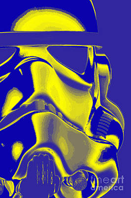 Science Fiction Photograph - Stormtrooper Helmet 8 by Micah May