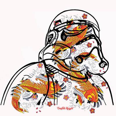 Stormtrooper In Dream State Original