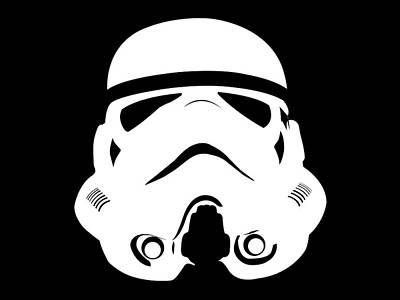 Struggling Digital Art - Stormtrooper by Nathan Shegrud