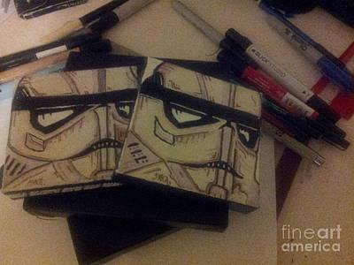 Stormtroopers Original by Cesar Puga