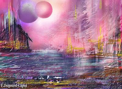 Stormway Art Print by Francoise Dugourd-Caput