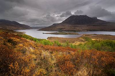 Photograph - Stormy Afternoon In Scotland by Maciej Markiewicz