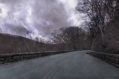 Country Side Photograph - Stormy Blue Ridge Parkway by Betsy Knapp