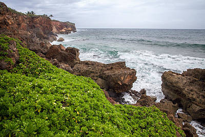 Photograph - Stormy Cliffs 2 by Tim Newton