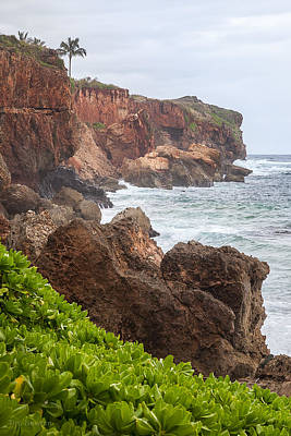 Photograph - Stormy Cliffs 4 by Tim Newton