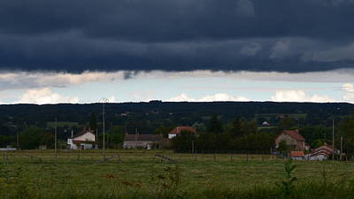 Photograph - Stormy Countryside by Cheryl Miller