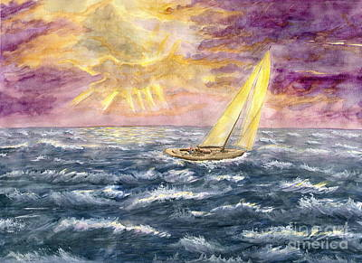 Painting - Stormy Day by Melly Terpening