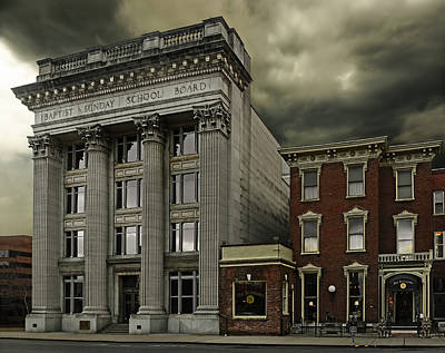 Nashville Tennessee Photograph - Stormy Day by Steven Michael