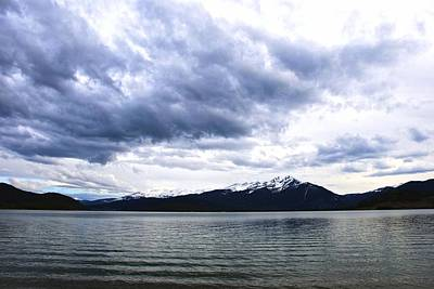 Photograph - Stormy Dillon Lake by Charlie and Norma Brock