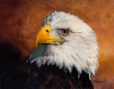 Painting - Stormy Eagle by Brent Ander
