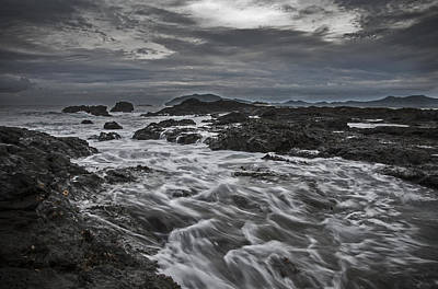 Photograph - Stormy Evening On The Pacific by Owen Weber