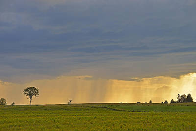 Photograph - Stormy Field by Joshua McCullough