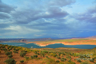 Photograph - Stormy Lake Powell by Debra Thompson