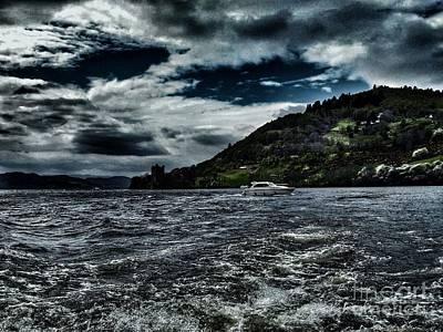 Photograph - Stormy Loch Ness by Joan-Violet Stretch