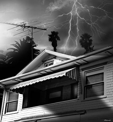 Stormy Monday Art Print by Larry Butterworth